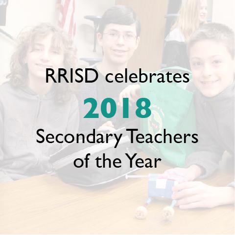 RRISD celebrates 2018 Secondary Teachers of the Year