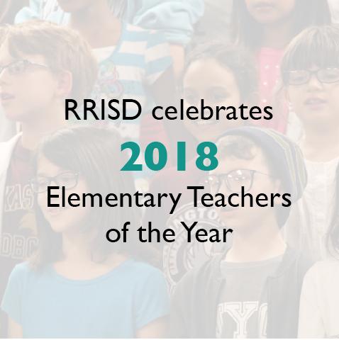 RRISD celebrates 2018 Elementary Teachers of the Year