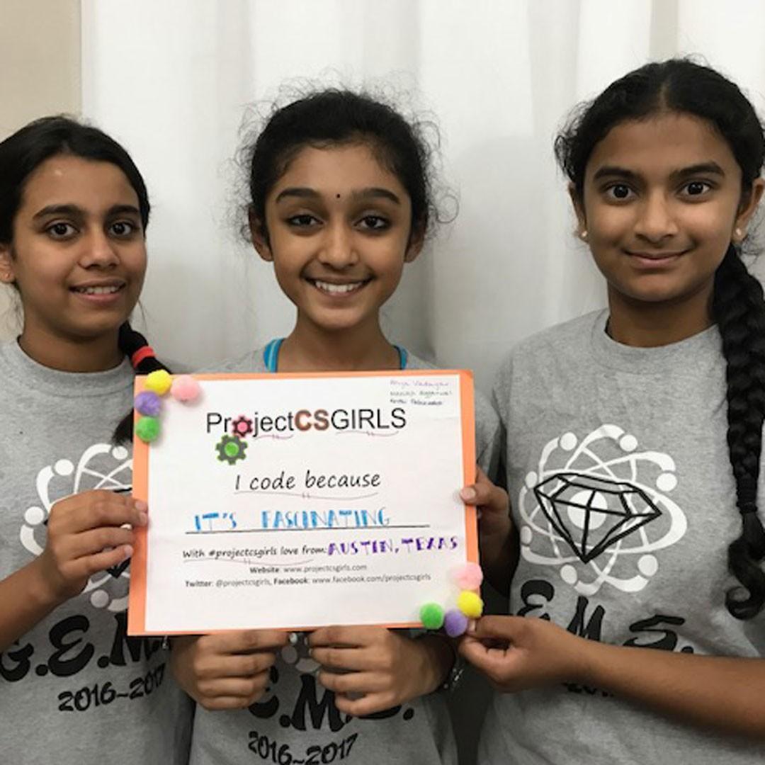 Canyon Vista students named national ProjectCSGIRLS Finalists