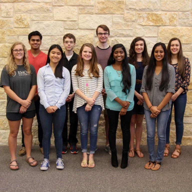 Cedar Ridge High School  2017 Top Ten