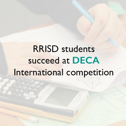 RRISD students succeed at DECA International competition
