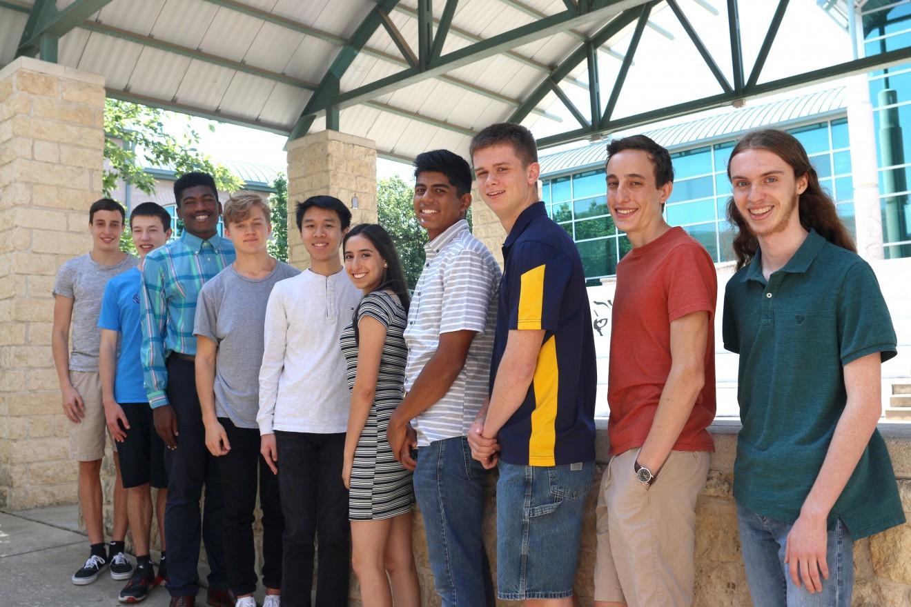 Photo of top 10 Stony Point students