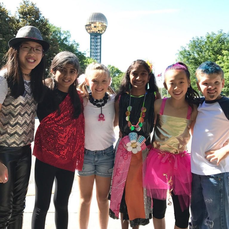 Sommer, England and Caraway Place at Destination Imagination Global Finals