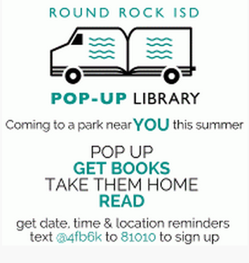 Round Rock ISD Summer Pop-Up Library keeps families reading