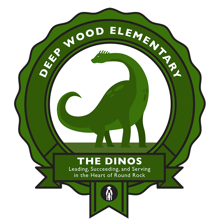 Deep Wood Dino logo