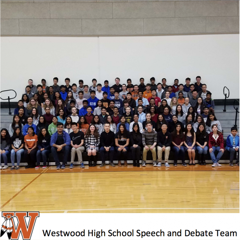 Westwood Speech & Debate Team Achieve Top National Ranking