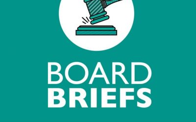 Board Briefs: Trustees approve McNeil GMP #5, discuss tax rate and appointment process