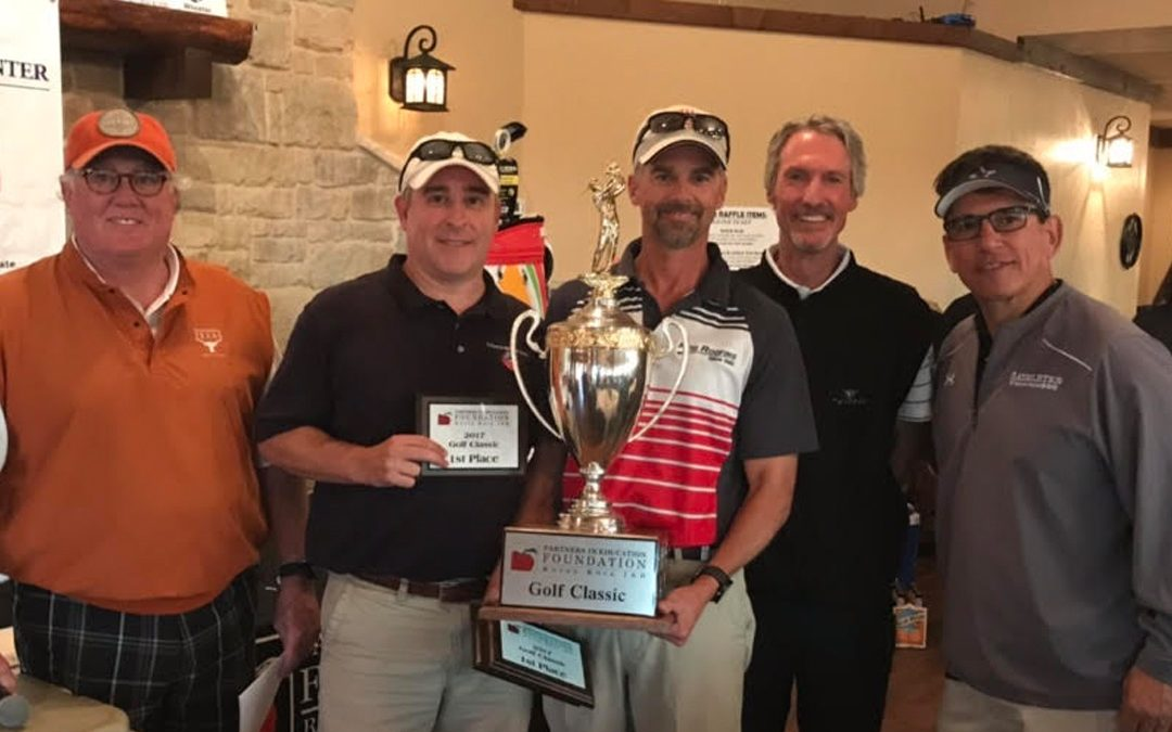 Partners in Education Golf Tournament breaks six-figure barrier, raises more than $111,000 for Round Rock ISD students and teachers