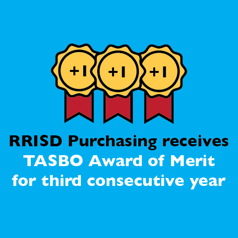 RRISD Purchasing receives TASBO Award of Merit for third consecutive year