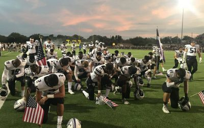 Cedar Ridge football team completes record season