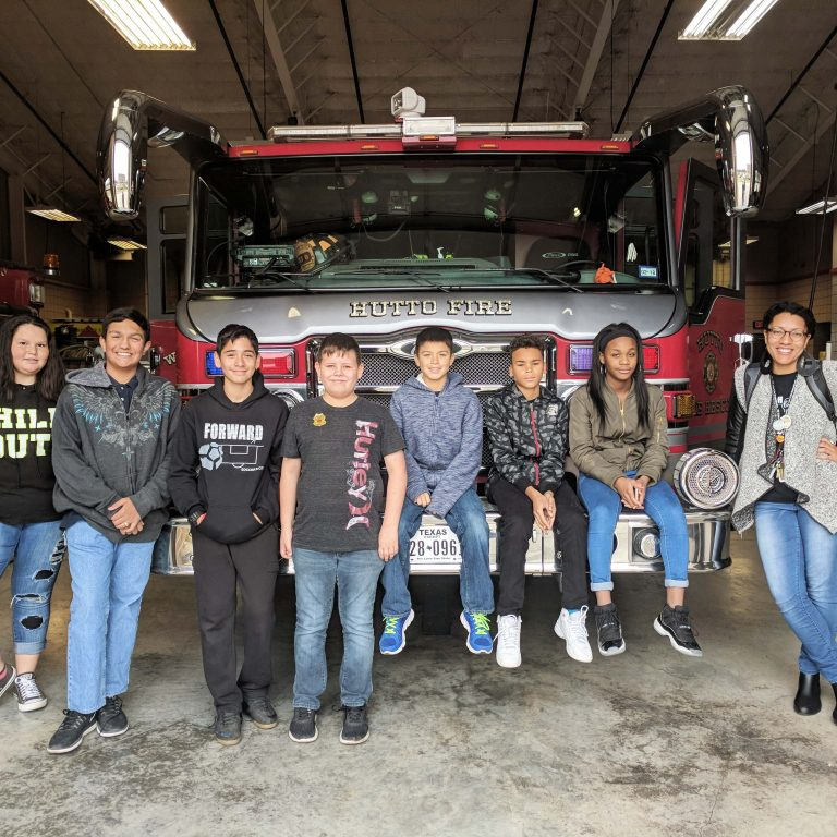 Partner Spotlight:  Travis and Williamson County Businesses welcome Hernandez students
