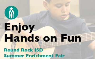 Enjoy Hands-on Fun at District Summer Enrichment Fair, being held Jan 20.
