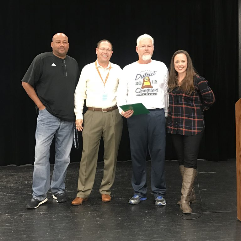 McNeil Boys Cross Country coach awarded UIL Sponsor Excellence Award