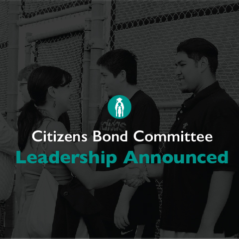 Round Rock ISD Announces Citizens Bond Committee Leadership