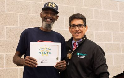 Brooks named Superintendent's RRock Star for April