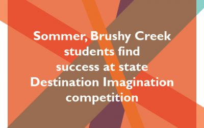 Sommer, Brushy Creek students find success at state Destination Imagination competition