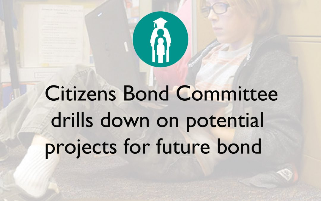 Citizens Bond Committee drills down on potential projects for future bond