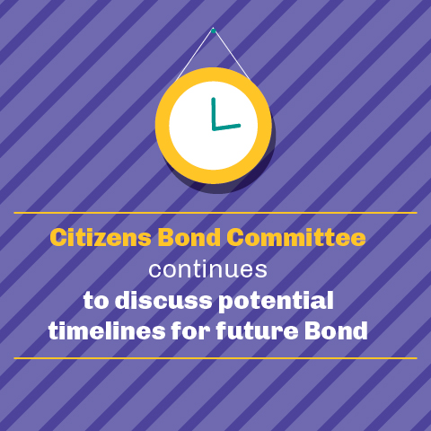 Citizens Bond Committee continues to discuss potential timelines for future Bond
