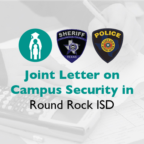 Message on Future Plans for safeguarding Round Rock ISD schools