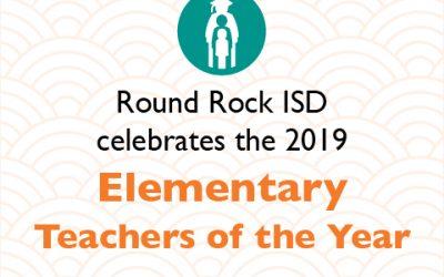 2019 Elementary Teachers of the Year
