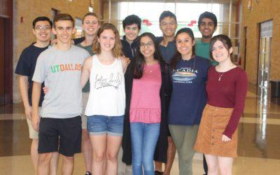 Round Rock High School 2018 Top Ten