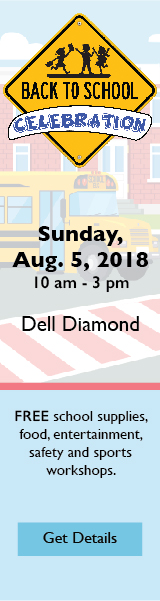 Back to School Celebration. Sunday, Aug. 5, 2018 10 am - 3pm Dell Diamond FREE school supplies, food, entertainment, safety and sports workshops. Get Details.