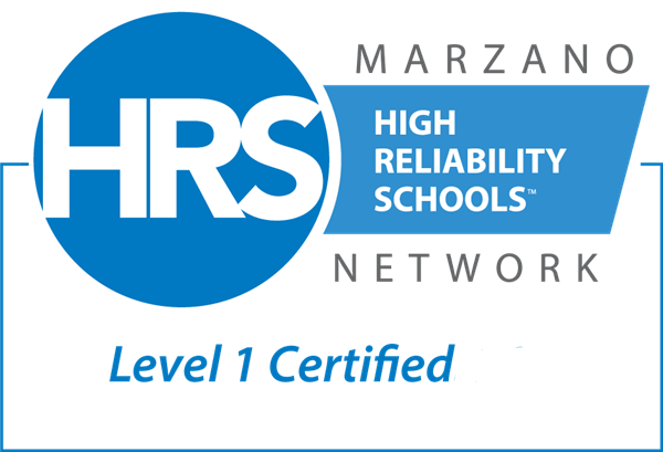 Marzano High Reliability Schools Network, Level 1 Certified