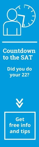Countdown to the SAT. Did you do your 22?