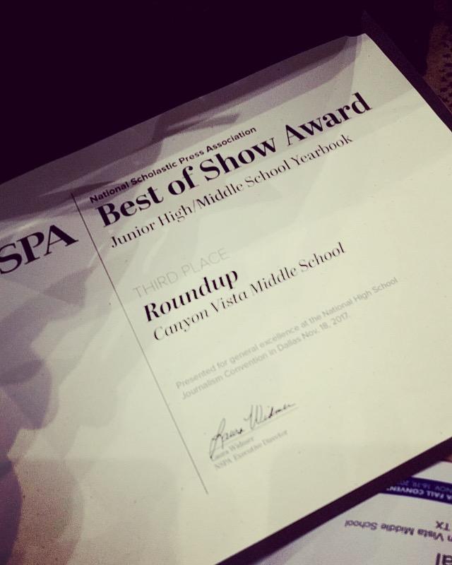 Yearbook wins Best of Show