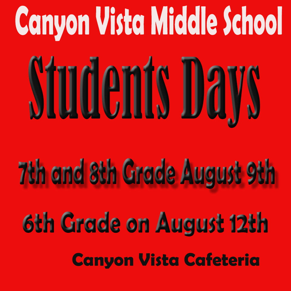 Canyon Vista Middle School   Round Rock ISD