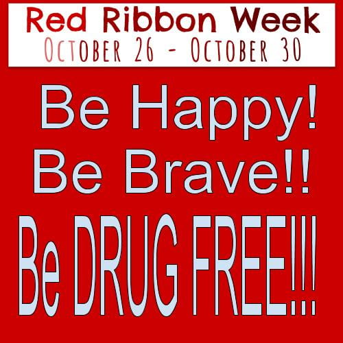 Red Ribbon Week is Oct 26-30