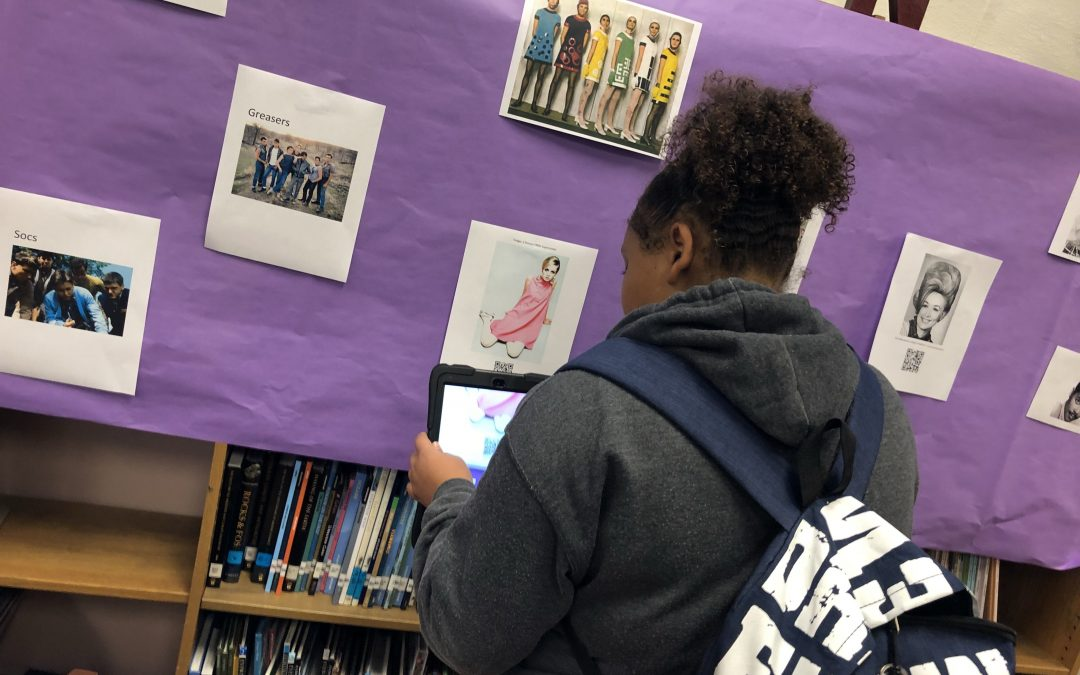 1960's Gallery Walk – Preparing for the Outsiders
