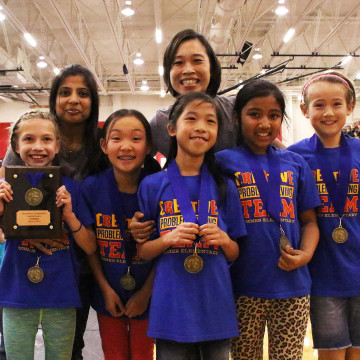 photo of Destination Imagination students