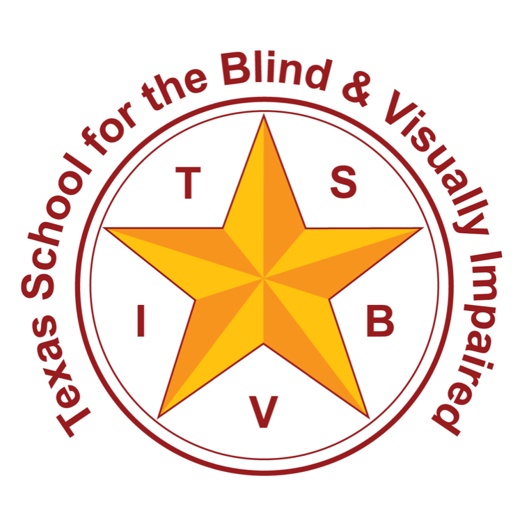 Texas School for the Blind and Visually Impaired logo