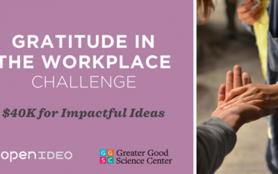 Gratitude in the Workplace Challenge