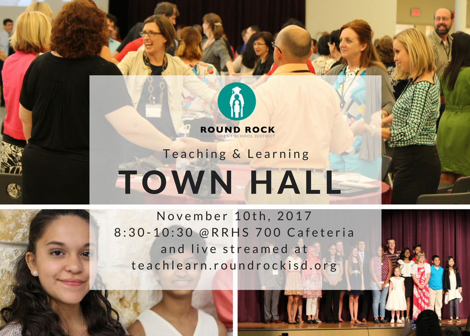 Teaching & Learning Town Hall Set for Nov. 10th – Attend or Watch Live!