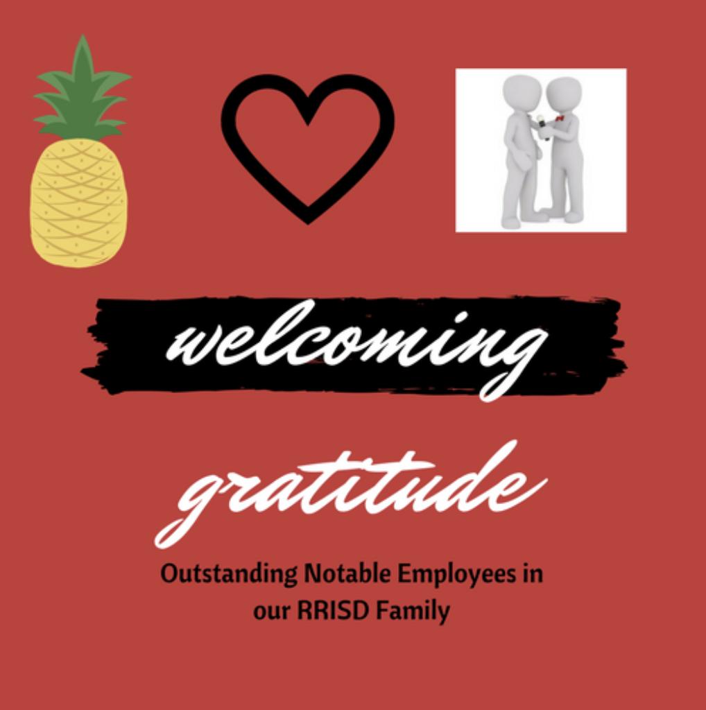 Welcoming Gratitude in Round Rock ISD – #gratitudeatwork Challenge Entry