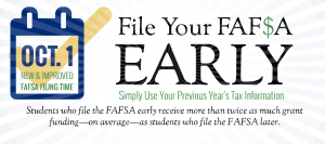 File your FAFSA Early