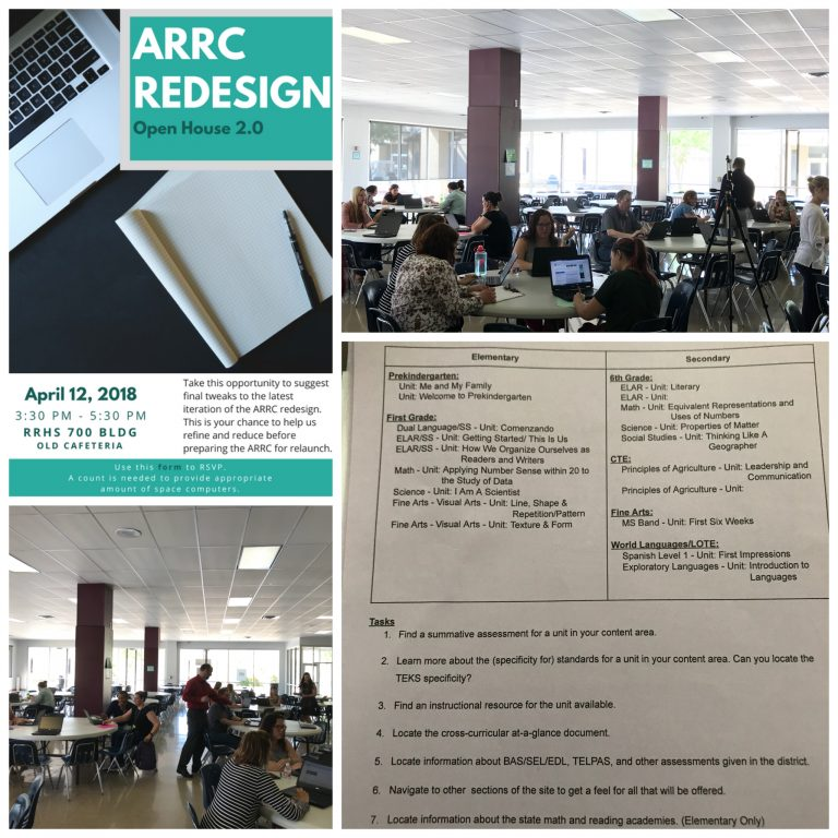 ARRC Redesign Team Holds Final Open House
