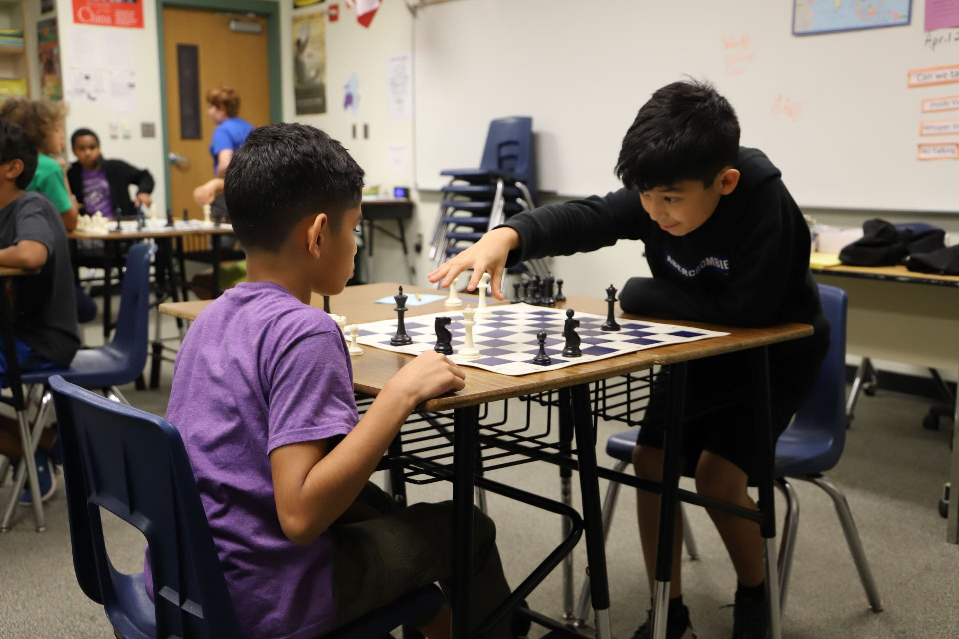 Your Move! First District Elementary Chess Tournament Yields Learning and Fun