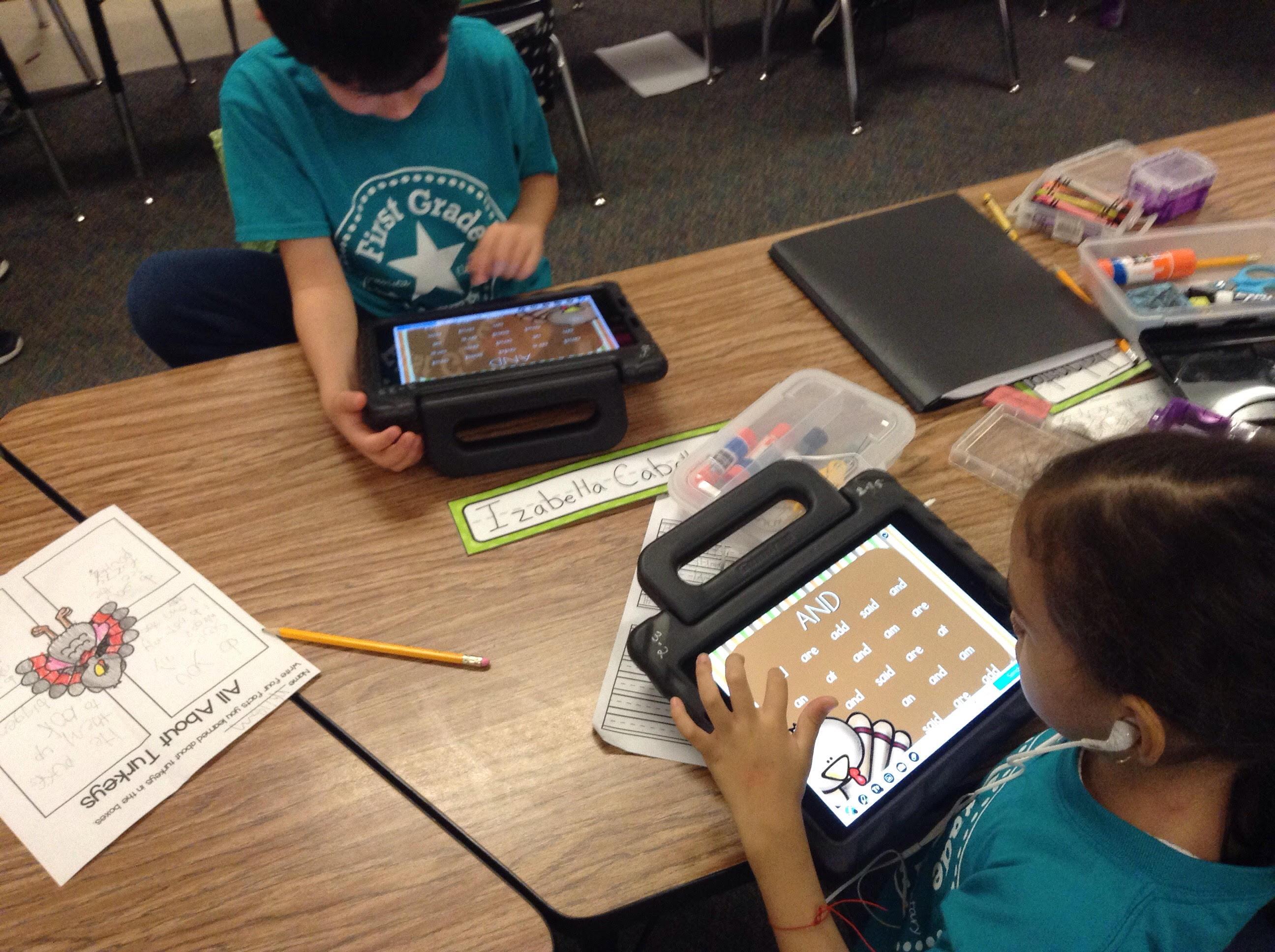Ipads, Nearpod, and Sight Words