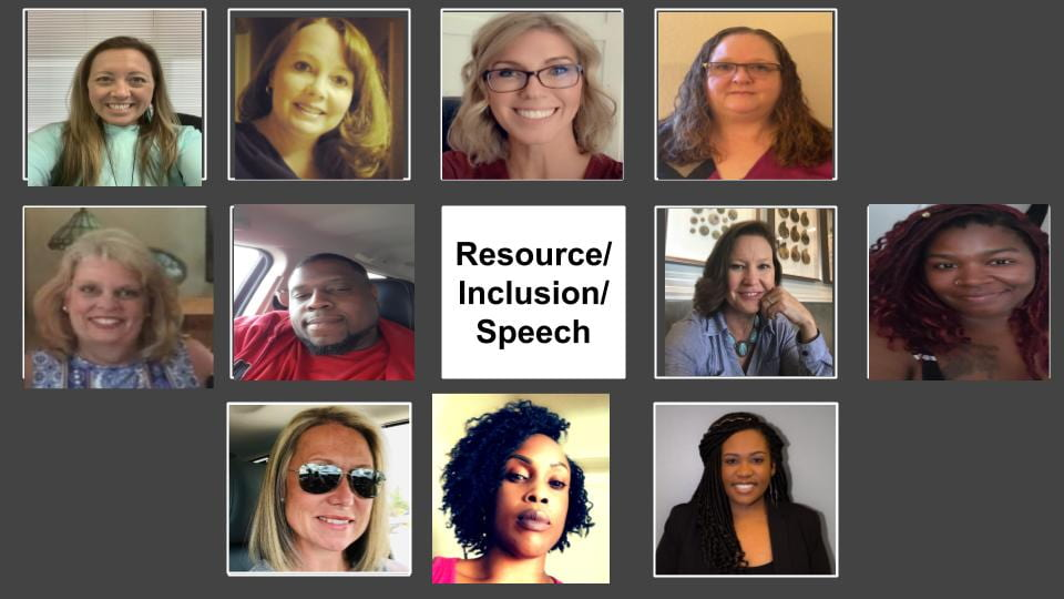 Resource Inclusion and Speech