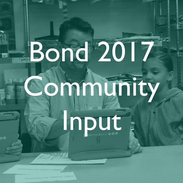 Community Feedback Form for Bond 2017
