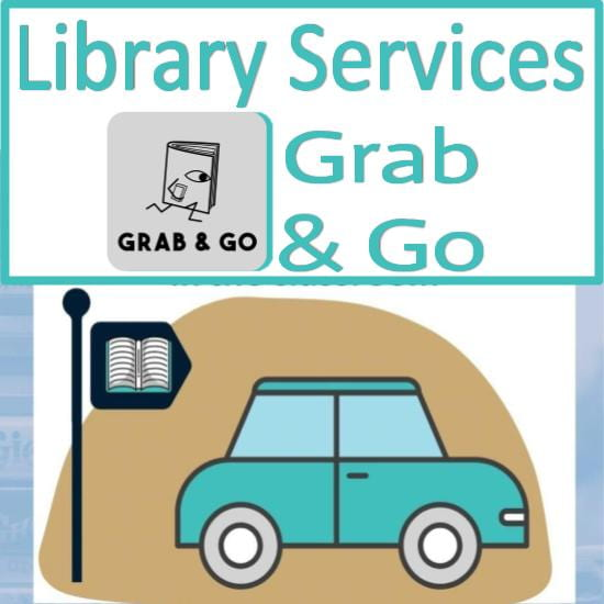 Library Services grab & go information