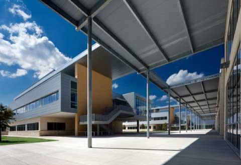 Exterior of CRHS