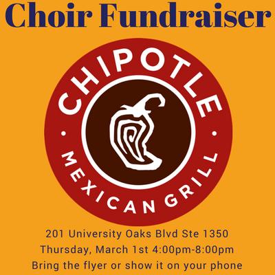 Choir Fundraiser