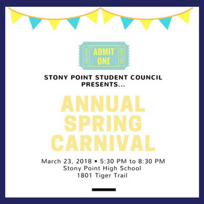Stony Point 3rd Annual Spring Carnival