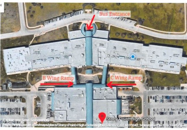 Updated Campus Entry Points