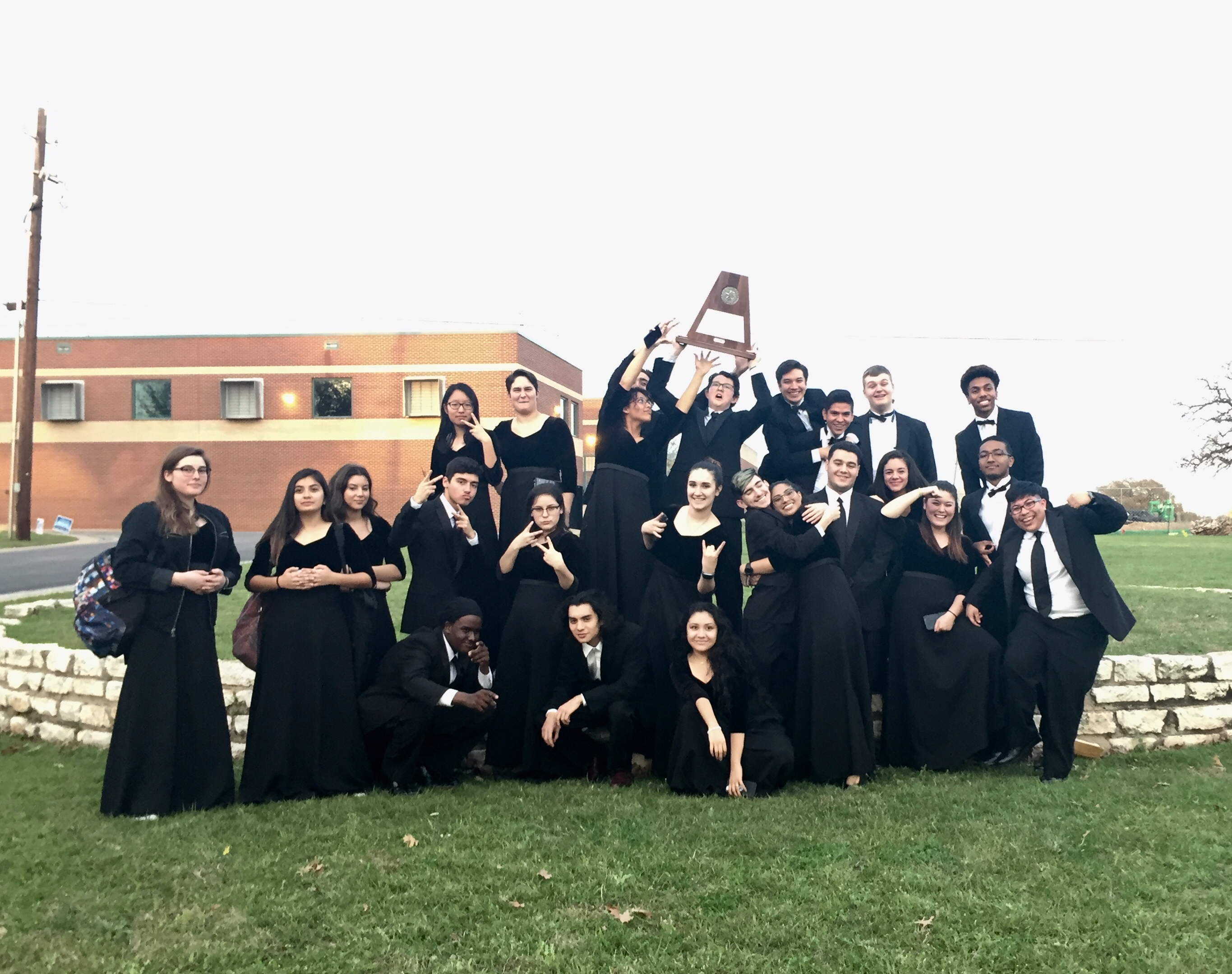Stony Point Orchestra Earns Sweepstakes Trophy Stony Point High School