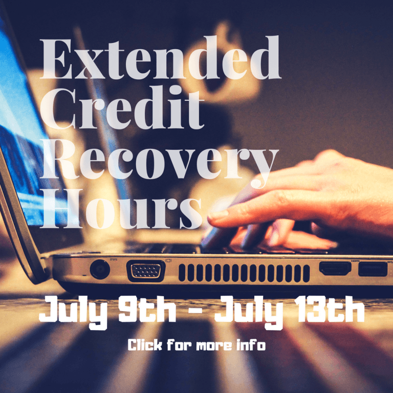 Extended Credit Recovery Hours